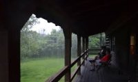 Stormy Back Porch