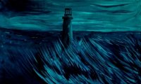 Turned off Lighthouse. Painting